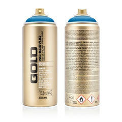 Montana GOLD Spray Color, Blue Magic - 400ml Spray Can