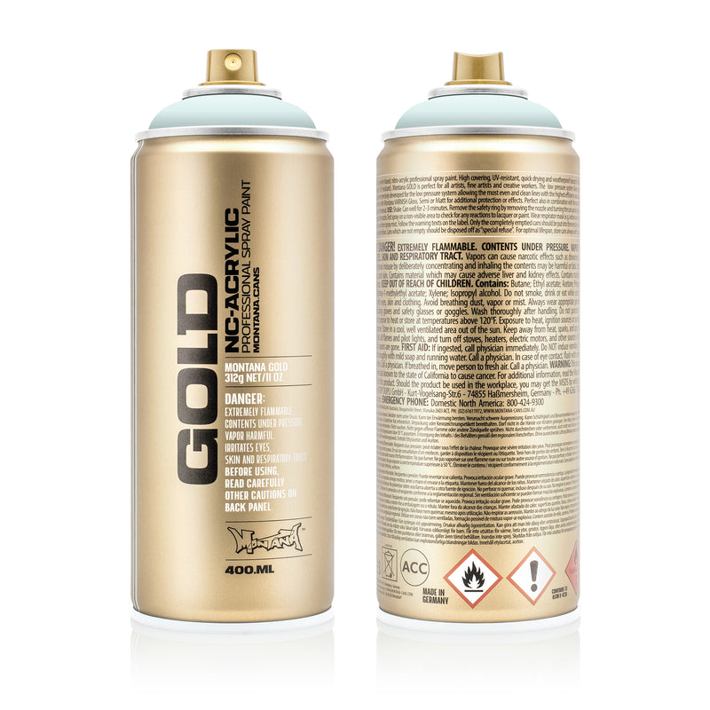 Montana GOLD Spray Color, Polar Blue - 400ml Spray Can