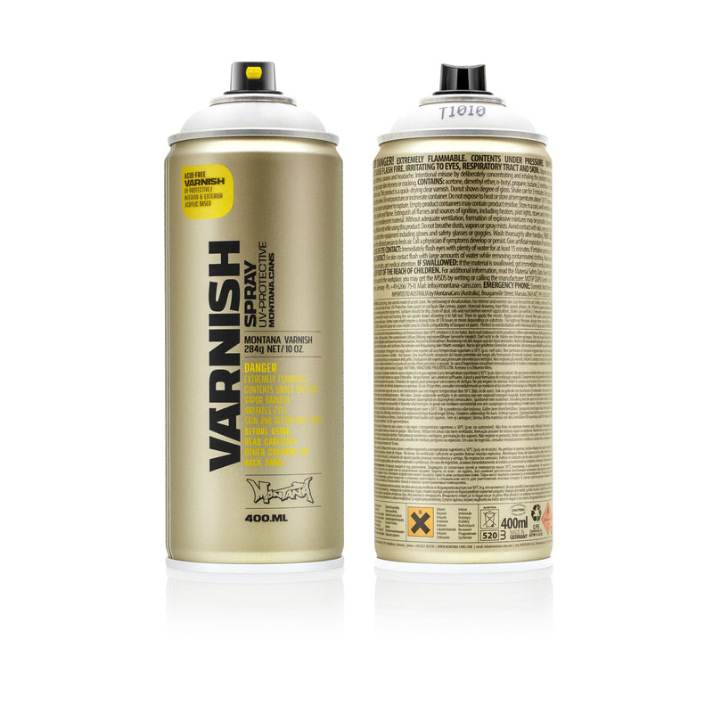 Montana TECH Varnishes, Matte - 400ml Spray Can