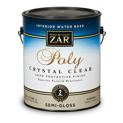 ZAR Interior Water Base Poly Crystal Clear