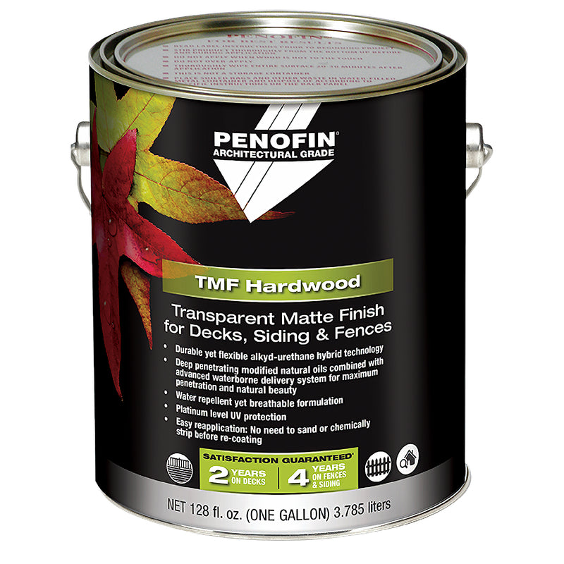 Penofin Transparent Matte Finish for Decks, Siding, and Fences