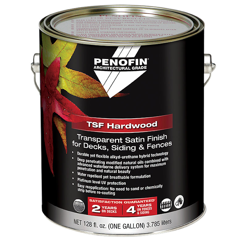 Penofin Transparent Satin Finish for Decks, Siding, and Fences