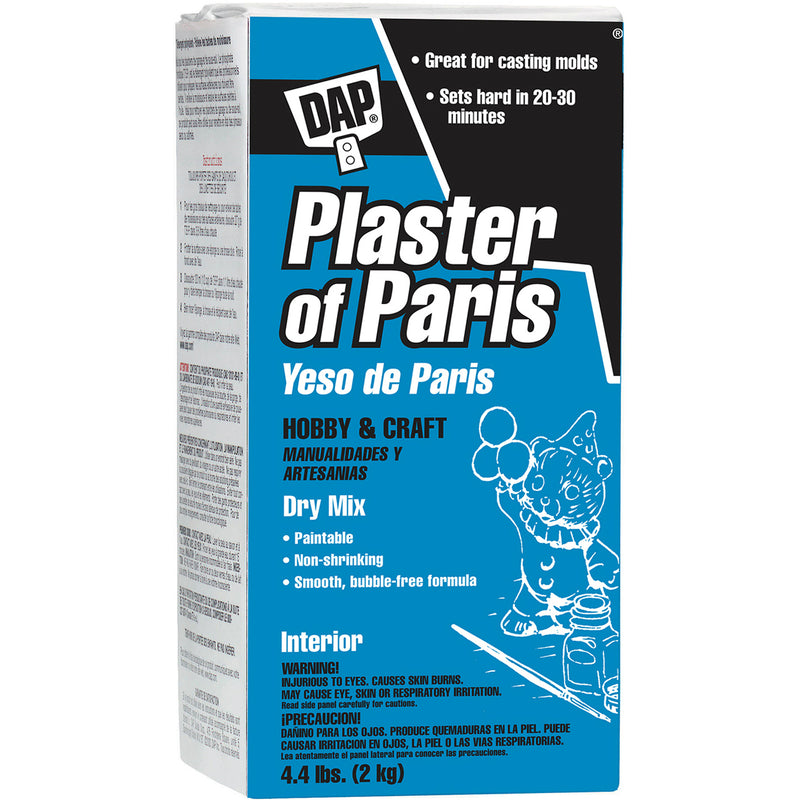 DAP Plaster of Paris Hobby & Craft (Dry Mix), 4.4 lbs.