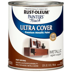 Painter's Touch Ultra Cover Satin Metallic Finish