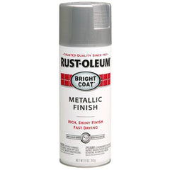 Stops Rust Bright Coat Metallic Sprays