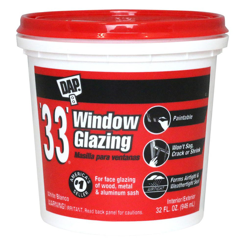 DAP '33' Window Glazing
