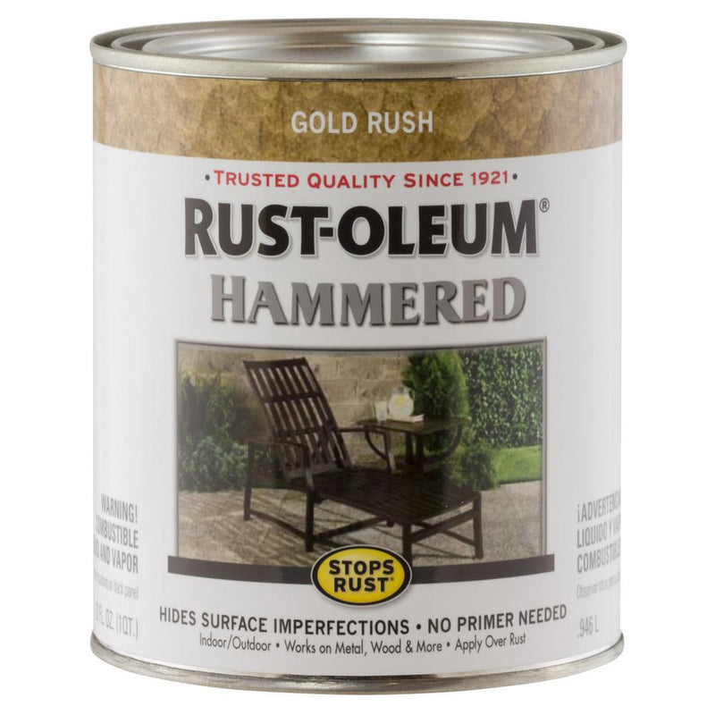 Stops Rust Hammered Brush