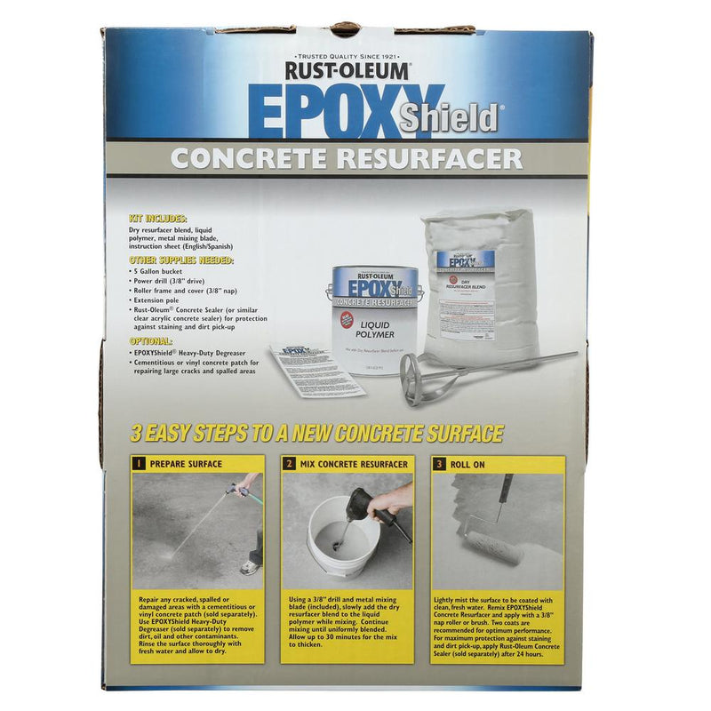 Rust-Oleum EpoxyShield Natural Concrete Color 2-Part Concrete Resurfacer Kit