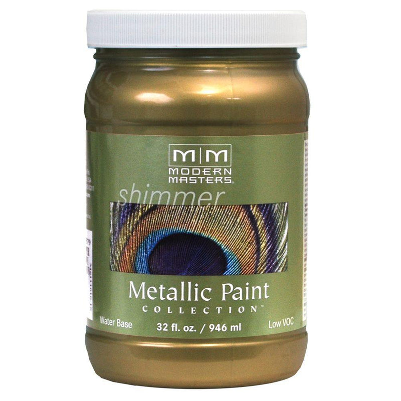 Metallic Paint Collection - Satin Sheen (ME) - Green Gold