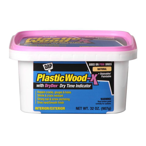 DAP Plastic Wood-X  All Purpose Wood Filler with DryDex Dry Time Indicator