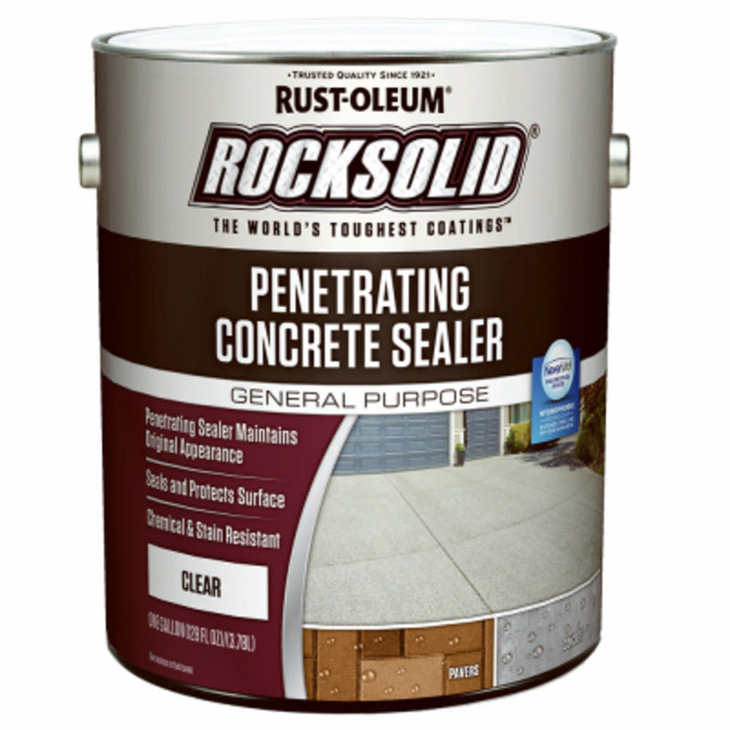 Rust-Oleum RockSolid 1 Gallon Clear Penetrating Concrete Sealer