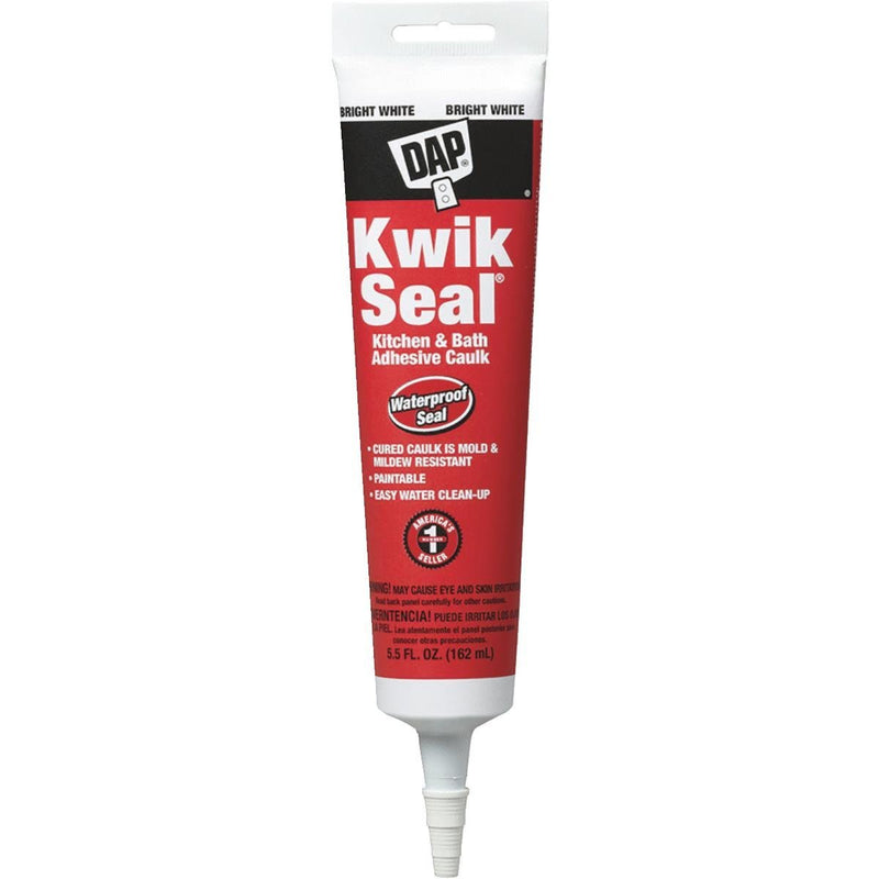 DAP Kwik Seal Kitchen & Bath Adhesive Caulk