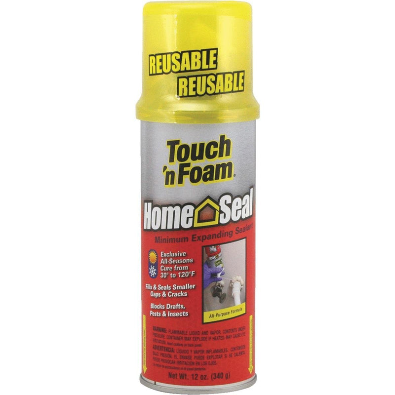 DAP Touch 'n Foam Home Seal Minimum Expanding Sealant, 12 oz.