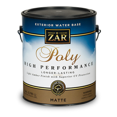 ZAR Exterior Water Base Poly High Performance