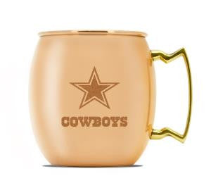 Dallas Cowboys Copper Mule