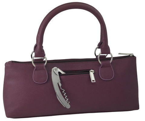 Mauve Wine Clutch
