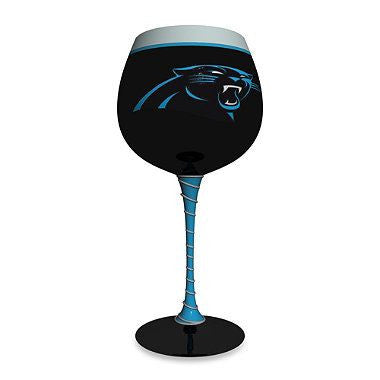 Carolina Panthers Wine Glass