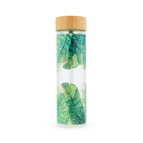 Tropical Glass Infused Tea Tumbler