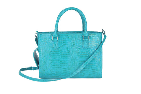 Turquoise Beverage Purse