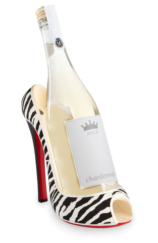 Zebra Wine Bottle Holder