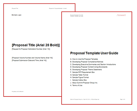 Proposal Development Toolkit (Template and User Guide ...