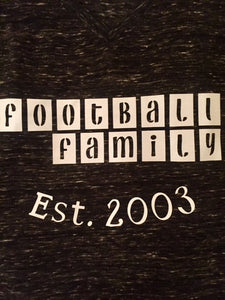 Football Family Est. (Customize Your Year)