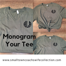 Load image into Gallery viewer, Monogram Your Tee