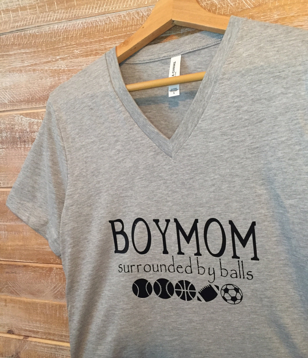 BoyMom Surrounded By Balls