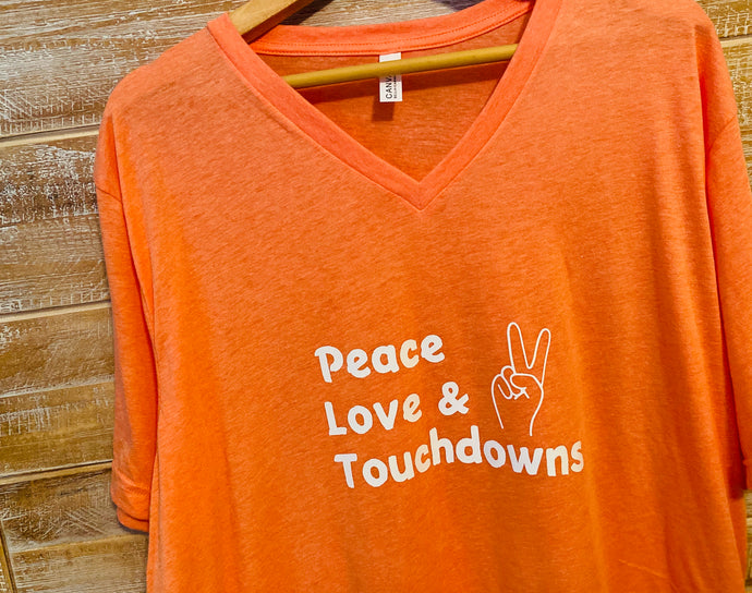 Peace Love & Touchdowns