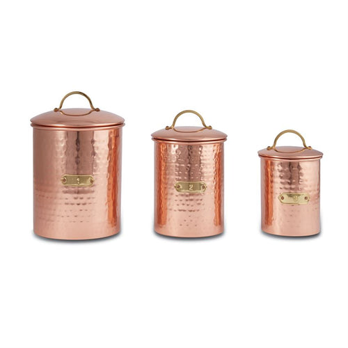 Copper Canister Set