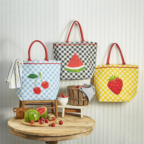 Fresh Picked Fruit Tote