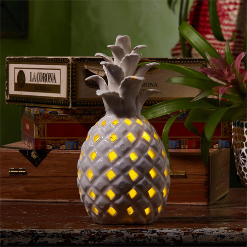 Decorative LED Light Up Pineapple