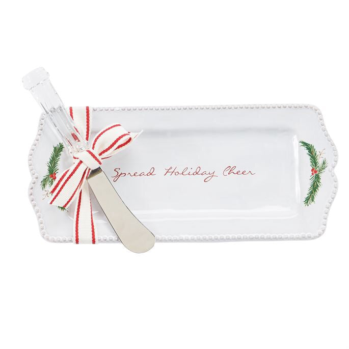 Holiday Butter Dish