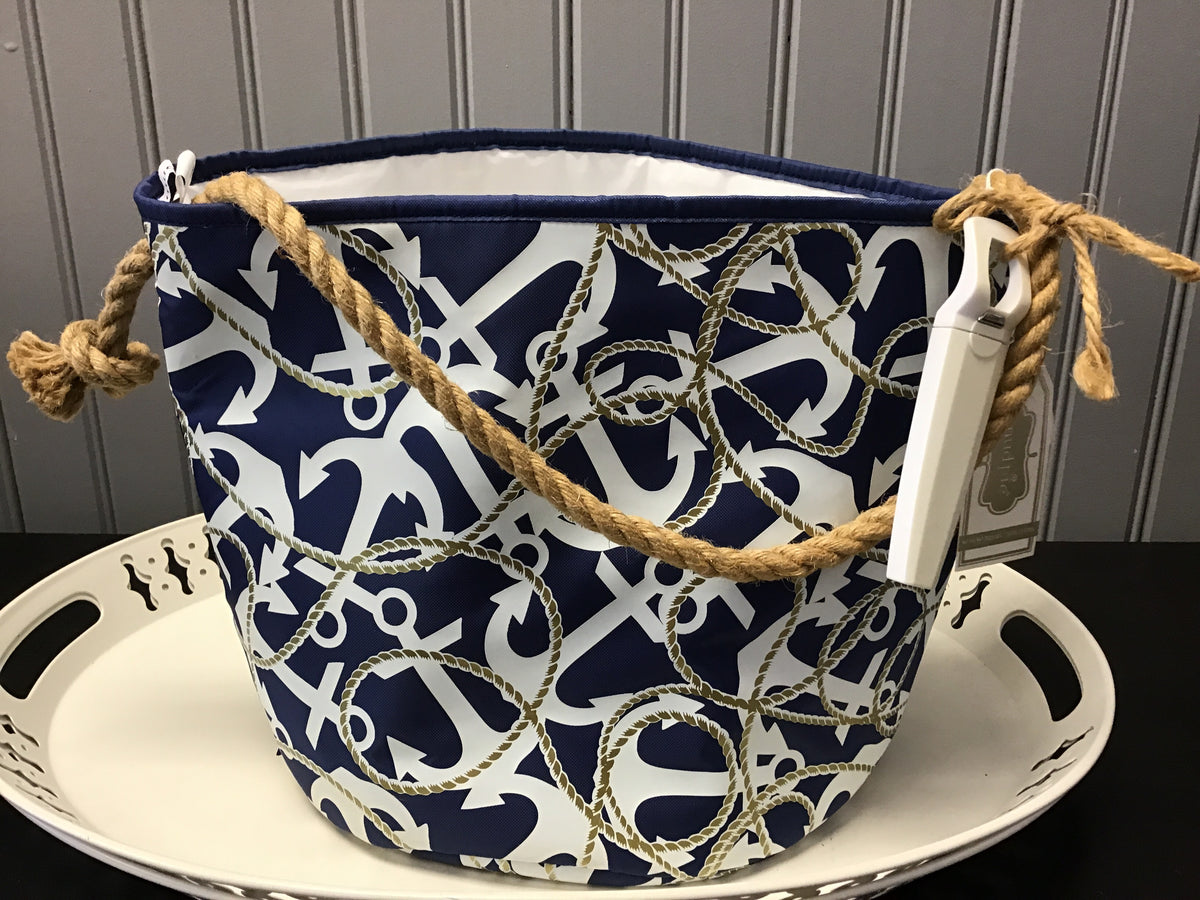 Gold-Rope Anchor and Party Bucket Set