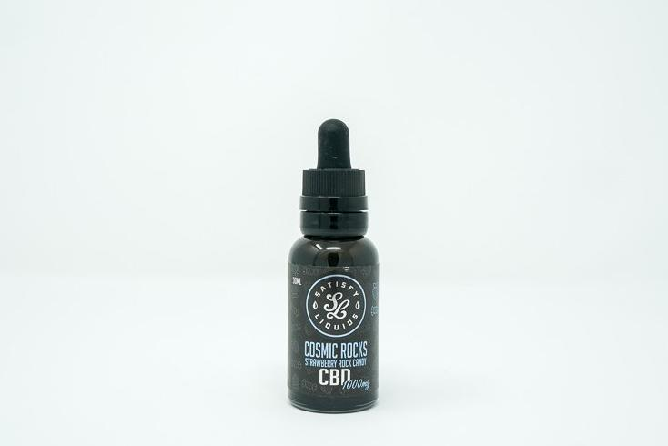 Satisfy Liquids - Cosmic Rocks - CBD Vape Juice - 1000 mg