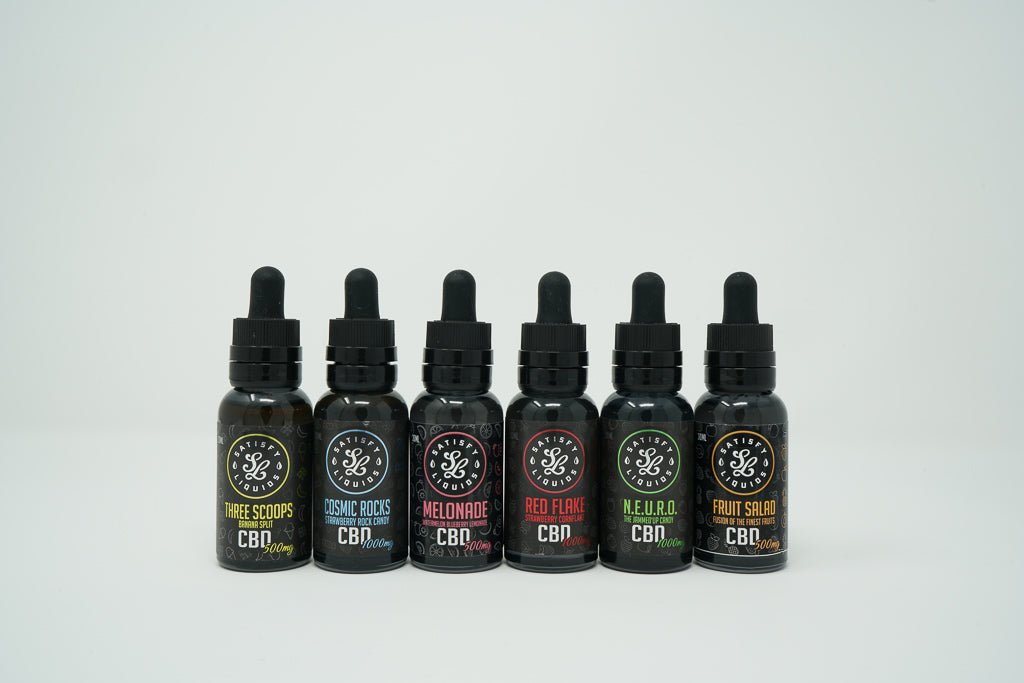 Satisfy Liquids - Melonade - CBD Vape Juice - 500 mg
