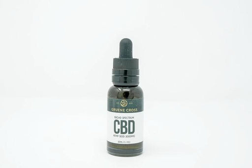Gruene Cross - CBD Hemp Seed Oil - 3000 mg