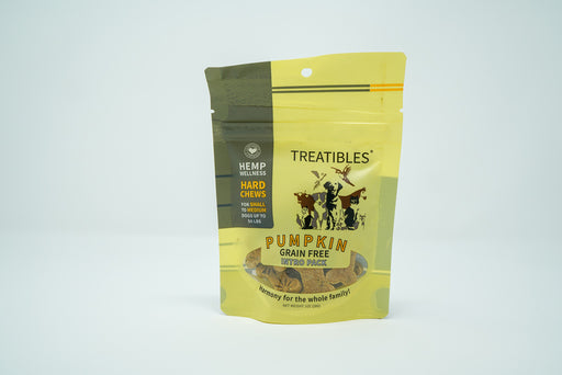 Treatibles - Small/Medium Breed - Intro Pack - Pumpkin