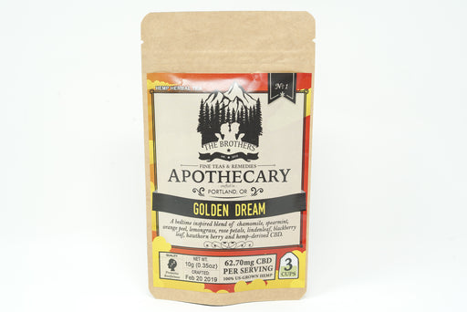 Brothers Apothecary - Golden Dream Tea - 62.7 mg