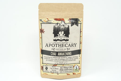 Brothers Apothecary - Chai Awakening Tea - 62.7 mg