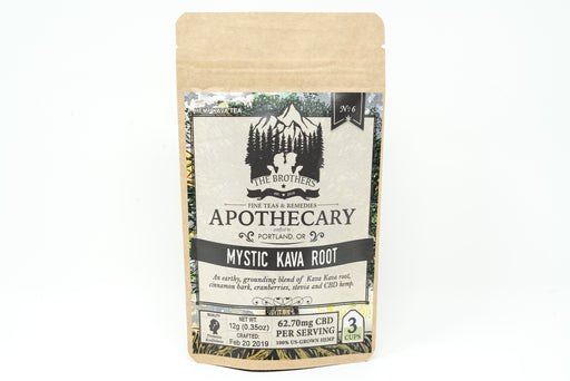Brothers Apothecary - Mystic Kava Root Tea - 62.7 mg