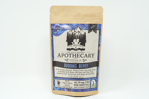 Brothers Apothecary - Buddha's Berry Tea - 62.7 mg