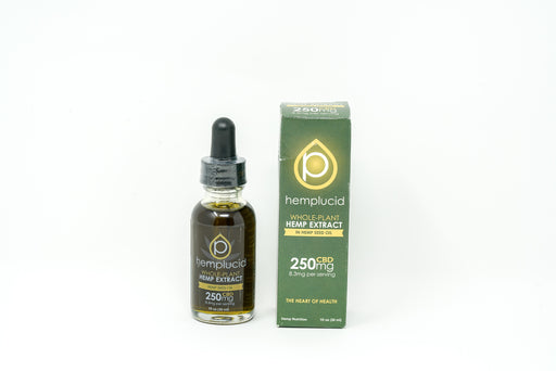 Hemplucid - Hemp Seed Oil - 250 mg