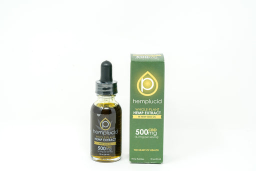 Hemplucid - Hemp Seed Oil - 500 mg