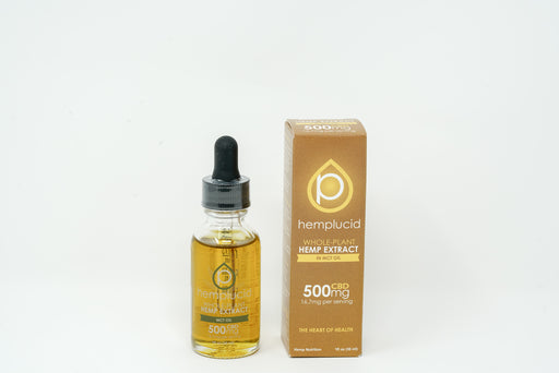 Hemplucid - MCT Oil - 500 mg