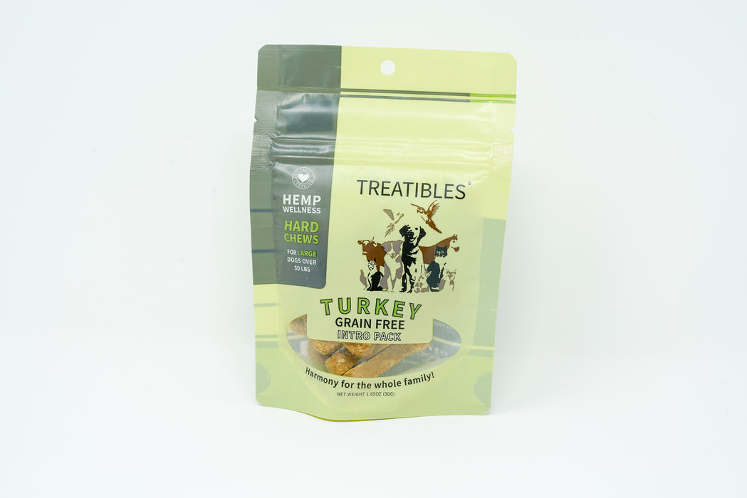 Treatibles - Large Breed - Intro Pack - Turkey