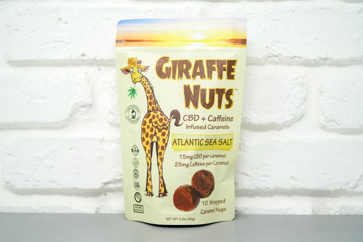 Giraffe Nuts Caffeine Atlantic Sea Salt