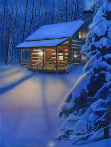 """Cabin"" by Costel Duval"