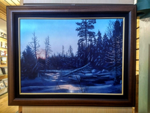 "Load image into Gallery viewer, ""Warm Light, Cold Landscape"" by Costel Duval"