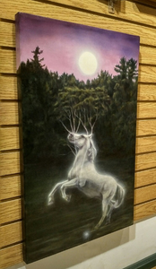 """Horse Spirit"" by Costel Duval 18"" X 30"""